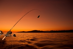 Done Fishing at Sunset